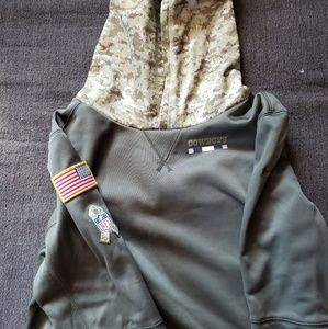 Dallas Cowboys Hoodie Support The Troops